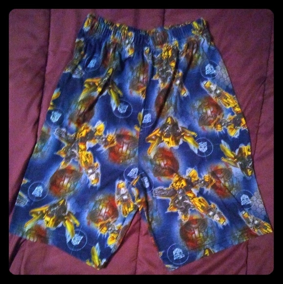 Other - Transformers PJ Shorts Bottoms Boy's Size 8
